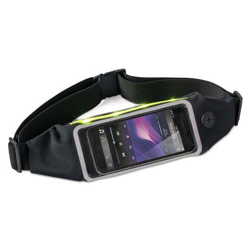 Balvi smartphone Halterung Gürteltasche Led hell schwarz