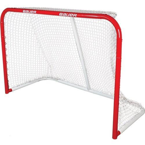 Bauer Eishockey   Tor Pro Steel 137 x 51 x 112 cm rot