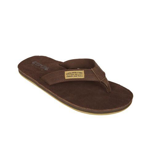 Cool Shoe flip Flops Belastung Männer braun Größe 46