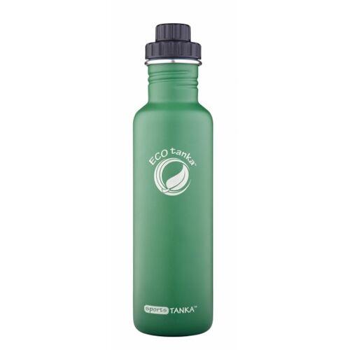 ECOtanka trinkflasche Sport Tanka800 ml Edelstahl grün/schwarz
