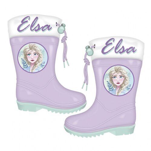 Disney regenstiefel Frozen Junior EVA lila/grün Größe 28