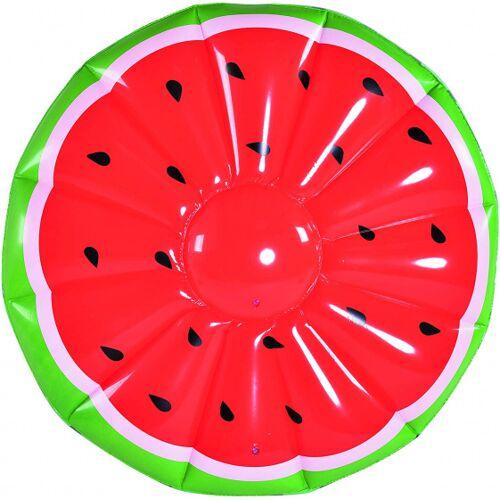Gerimport luftmatratze Wassermelone 148 x 30 cm PVC/Vinyl rot