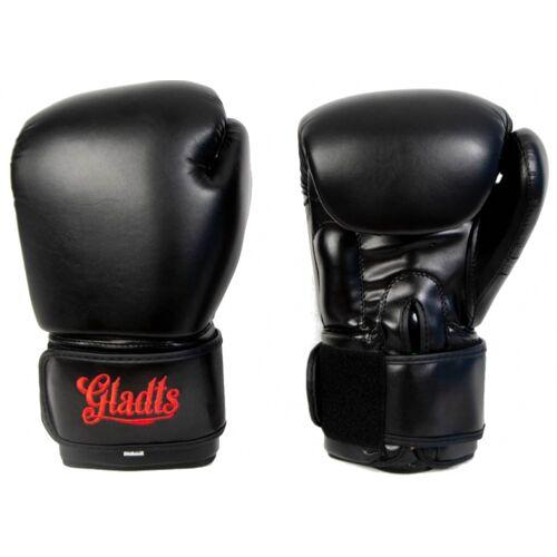 Gladts boxhandschuhe Kunstleder schwarz Größe 18