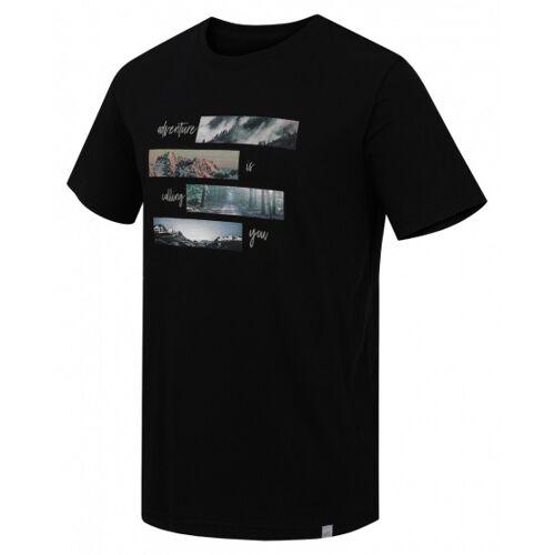 Hannah T Shirt MingarHerren Polyester schwarz Größe XXL