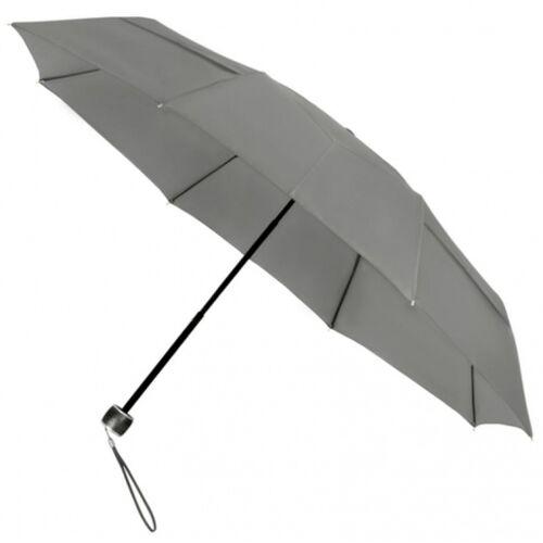 Impliva faltbarer Regenschirm miniMAX® Eco Fiberglas 100 cm grau