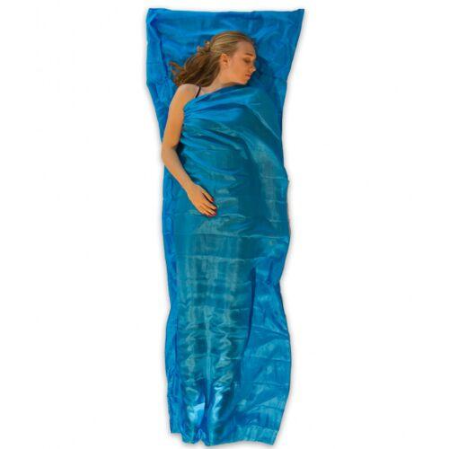 Lowland stofftasche Outdoor 220 x 80 cm Seide blau