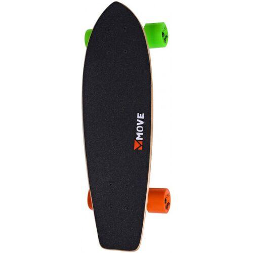 Move skateboard Cruiser 59 cm Holz/Aluminium schwarz