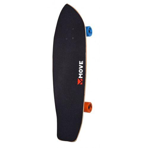 Move skateboard Cruiser 76 cm Holz/Aluminium schwarz