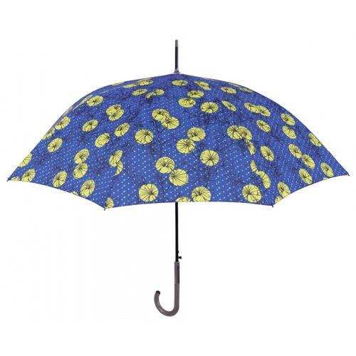 Perletti regenschirm Blumen 102 cm blau