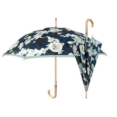 Perletti regenschirm Damen 102 cm grün