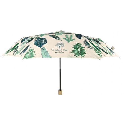 Perletti regenschirm Damen 97 cm grün