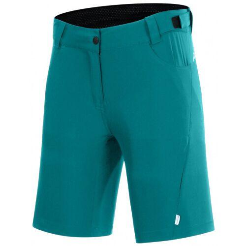 Protective fahrradshorts P Valley Damen Polyester mintgrün Größe 42