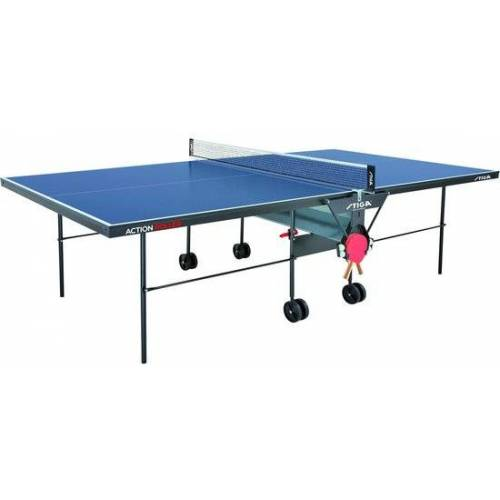 Stiga indoor Tischtennistisch Action Roller 274 cm blau