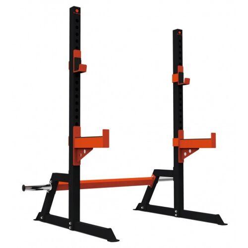 Sveltus kraftwerk Bodybuilding 160 x 155 x 150 cm schwarz/orange