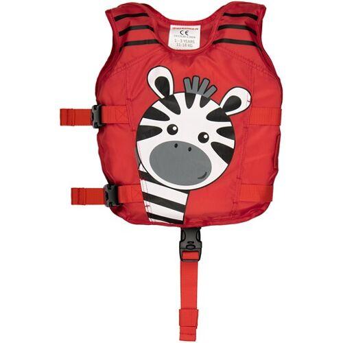 Waimea schwimmweste Zebra Junior Polyester rot 1 3 Jahre Einheitsgröße