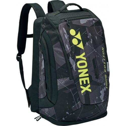 Yonex tennisrucksack Pro 34 Liter Polyester schwarz/gelb