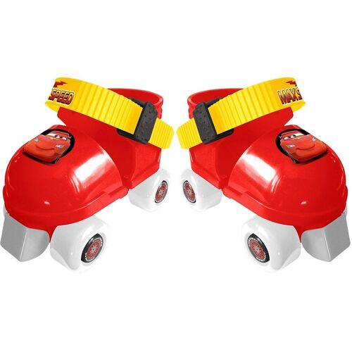Disney Rollschuhe mit Schutz Cars rot