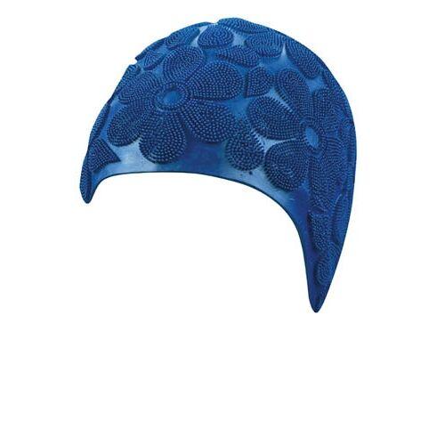 Beco badekappe Damen Gummi blau Stacheln