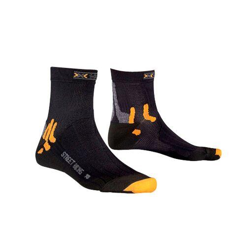 X-Socks X Socks fahrradsocken Street BikingNylon/PP schwarz