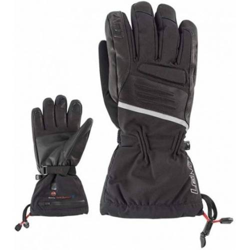 Lenz beheizte Handschuhe 4.0 Herren Leder/Elasthan schwarz