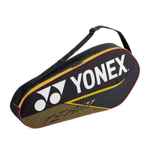 Yonex badmintontasche Team Bag 3R schwarz/gelb 26 Liter