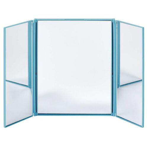 Moses klappbarer Reisespiegel 15,5 cm blau