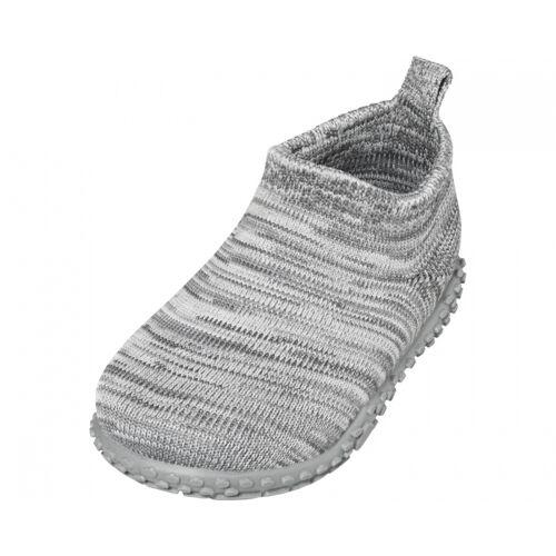 Playshoes pantoffeln gestrickt junior grau Größe 22/23
