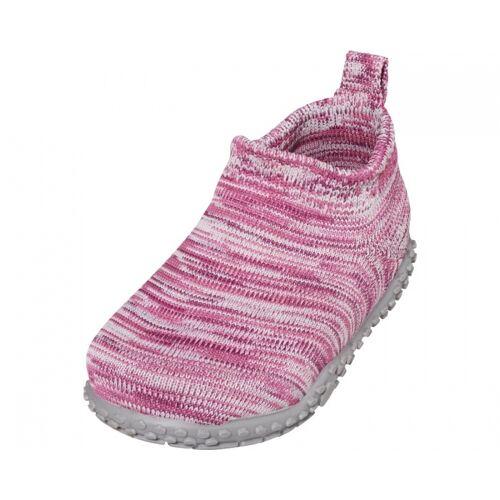 Playshoes pantoffeln gestrickt junior rosa Größe 20/21
