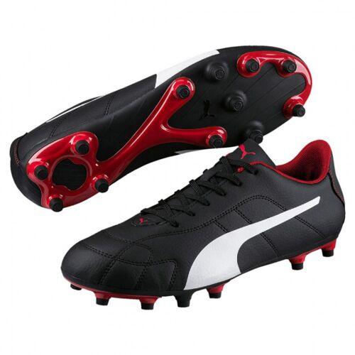 Puma fußballschuhe Classico FG Leder schwarz/weiß/rot Größe 42