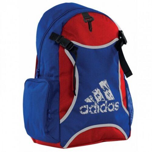 Adidas Taekwondo unisex blau / roter Rucksack 18 Liter