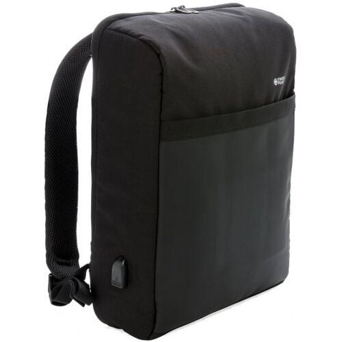 Swiss Peak laptop Rucksack Diebstahlsicherung 15 Zoll schwarz