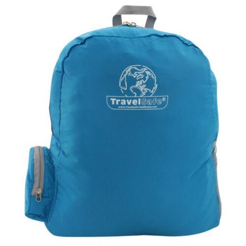 TravelSafe rucksack faltbar 36 x 42 cm Polyester blau