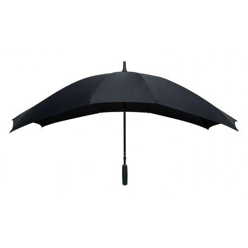 Falcone duo Regenschirm Handöffnung 148 x 99 cm schwarz