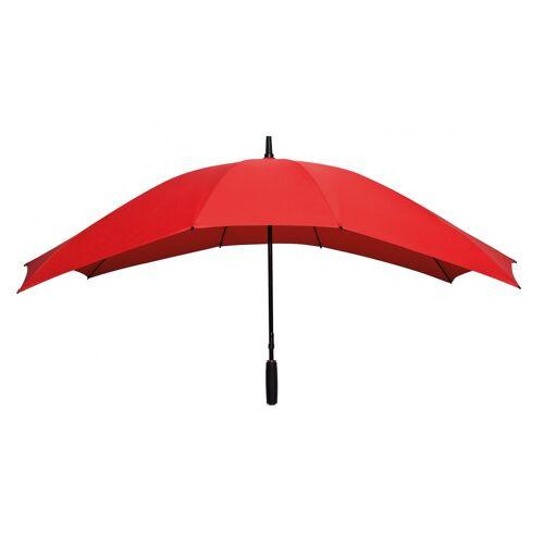 Falcone duo Regenschirm Handöffnung 148 x 99 cm rot