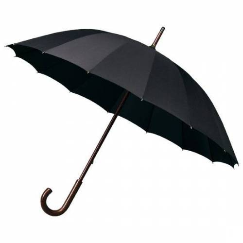Falcone regenschirm 16 Bahnen 103 cm schwarz
