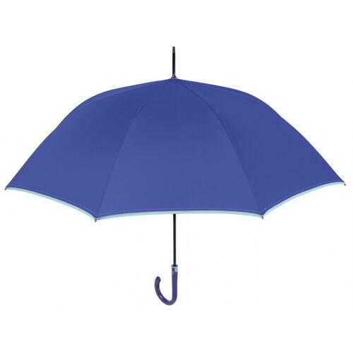 Perletti regenschirm automatisch 112 cm blau