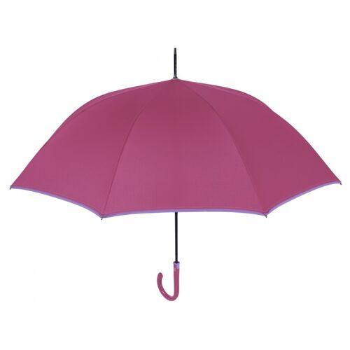 Perletti regenschirm automatisch 112 cm rosa