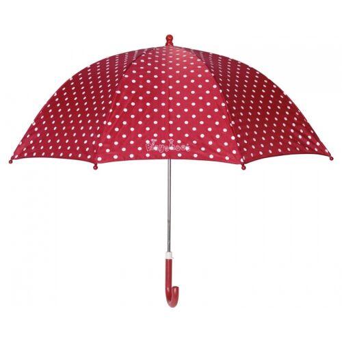 Playshoes regenschirm mit Punkten rot 70 cm