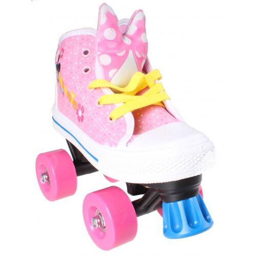 Disney rollschuhe Minnie Mouse Mädchen rosa/weiß Größe 29