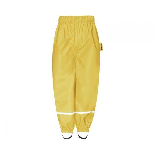 Playshoes regenhose mit Gummizug am Bund gelb Größe 80