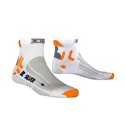 X-Socks X Socks fahrradsocken Biking SilverPE/PP weiß/silber