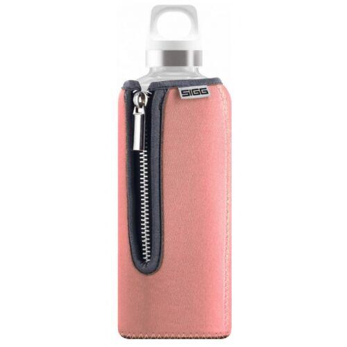Sigg trinkflasche Stella 500 ml 7,6 cm Glas/Neopren lachsrosa