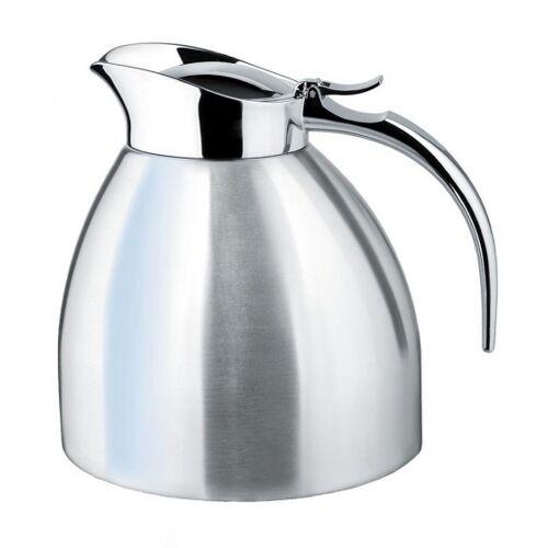 Isosteel Edelstahl Thermoskanne 1 Liter