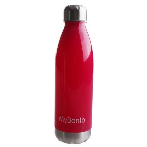 Summit trinkflasche  MyBento 650 ml Rot/Chrom