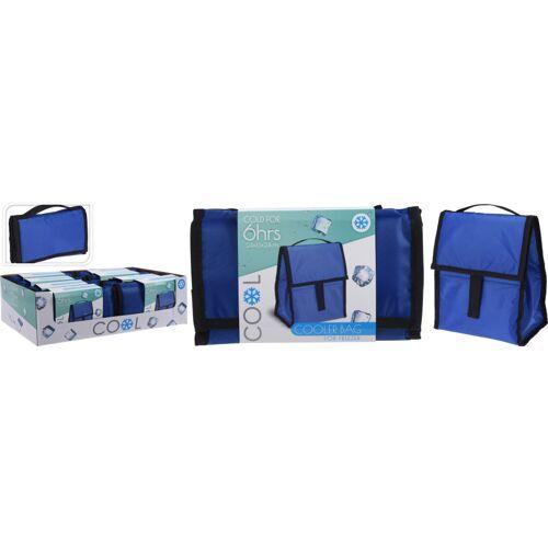 TOM faltbare Kühltasche 24,5 x 16 x 24 cm blau