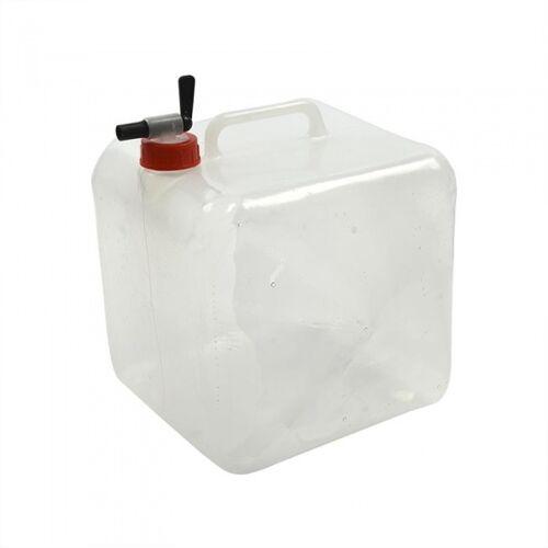 ProPlus Faltbarer Kanister mit Hahn 10 Liter transparent