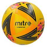 Mitre Ultimatch Plusfußball Polyurethan gelb/orange/rosa Größe 5