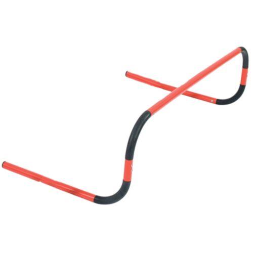 Precision hürden biegsames 50 cm PVC schwarz/rot 4 teilig