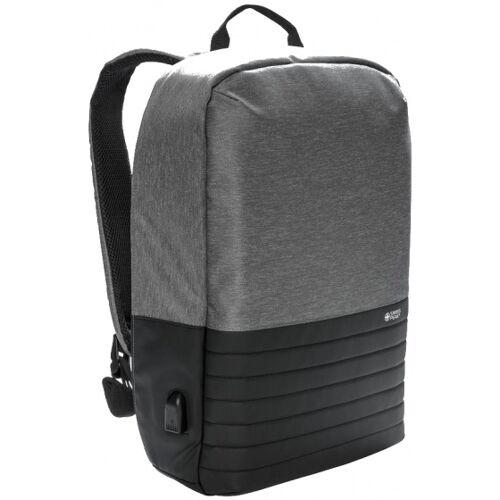 Swiss Peak laptop Rucksack 15 Zoll grau