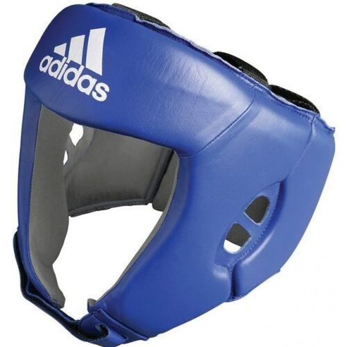 Adidas Kopfschutz Aiba blau Größe S
